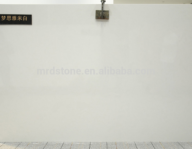 High Quality Chinese Pure Nano Artificial White Marble