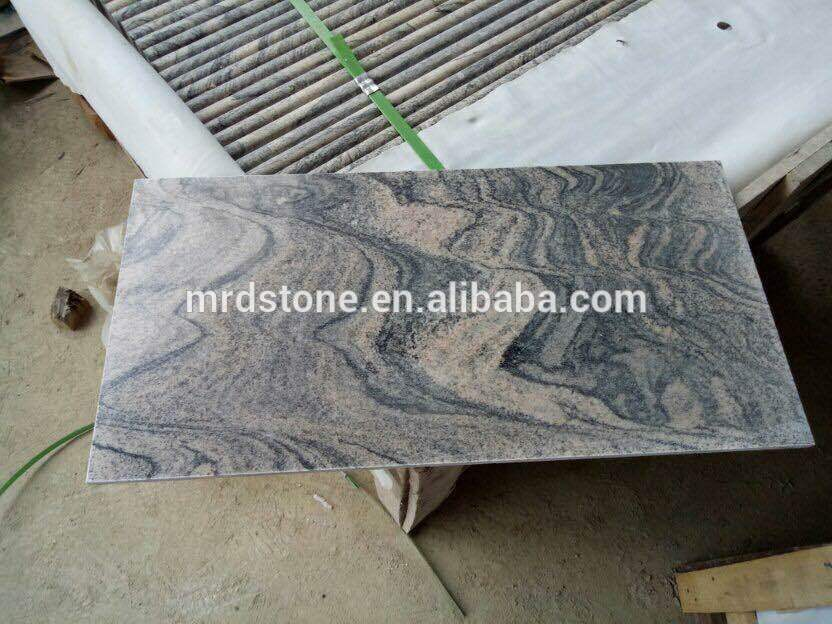 Different styles of kitchen bathroom granite China juparana stone tile