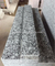 Polished spray white granite stairs design on sale