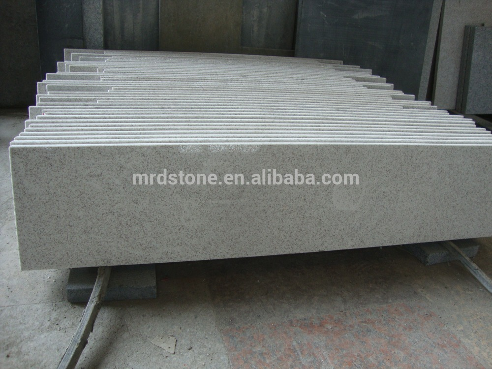 Prefab cut-to-size chinese Pearl white granit countertops for kitchen