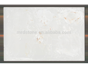 Cheap Chinese Decoration Faux Stone White Artificial Onyx
