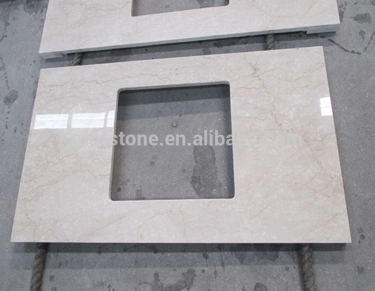 Discount Products Kitchen Creamy White Classic Botticino Marble Countertop