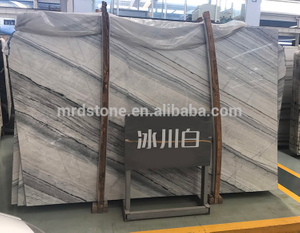 Factory Direct Sales Nature Polished Ice White Marble Slab Price