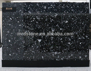 Factory Direct Nero Margiua Black Marble Solid Surface Panel