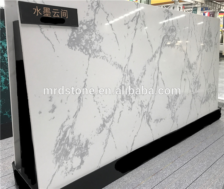 High quality Landscape series artificial quartz stone for kitchen