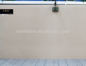 Own Factory SGS Approved Small Particles Stone Artificial Beige Quartz