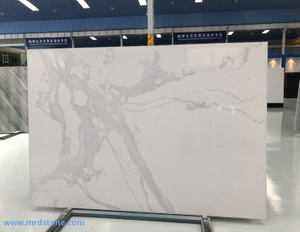 High Quality Calacatta White Artificial White Marble