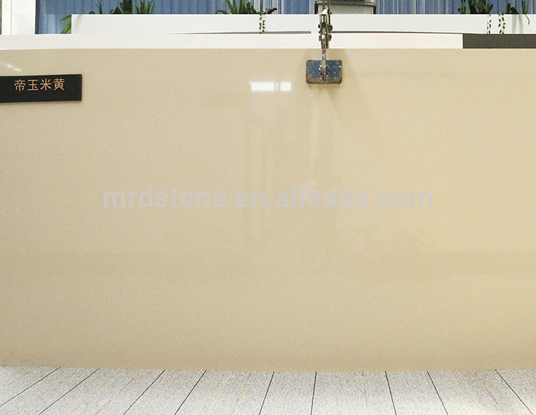 Own Factory 100% Export Standard Artificial Beige Quartz Stone