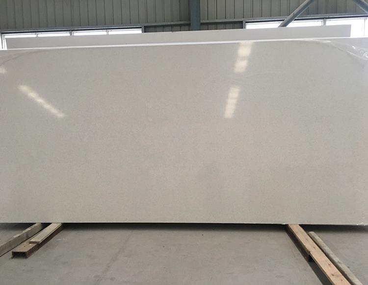 Artificial Slab White Pattern Quartz Stone Price
