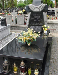 Good Price Szwed Albania Poland Style Designs Modern Black Headstones Tombstones