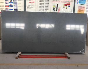 100% Export Standard Artificial Stone High Quality Black Pattern Quartz Slab With Best Price