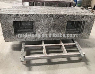 Chinese Decoration Natural Polished Alaska White Granite Countertop