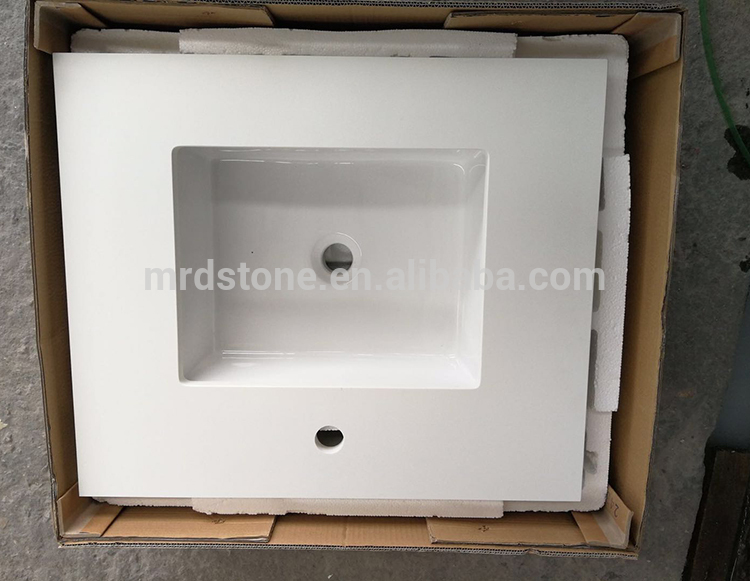 Wholesale Stone Slab Artificial Pure White Quartz Countertops