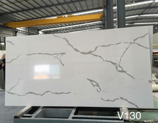 Engineered quartz stone calacatta white E wholesale quartz slabs