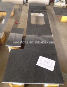 High Quality Natural Stone Worktop G654 Black Granite Countertops Kitchen