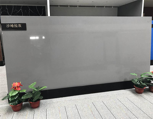 Hot Sell SGS Approved Artificial Slab Pure Grey Quartz Stone