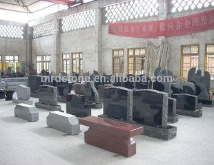 Factory Cheap Granite Design Cemetery American Style Tombstones