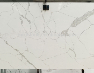 Factory Price CE Approved Artificial Stone White Calacatta Quartz Price
