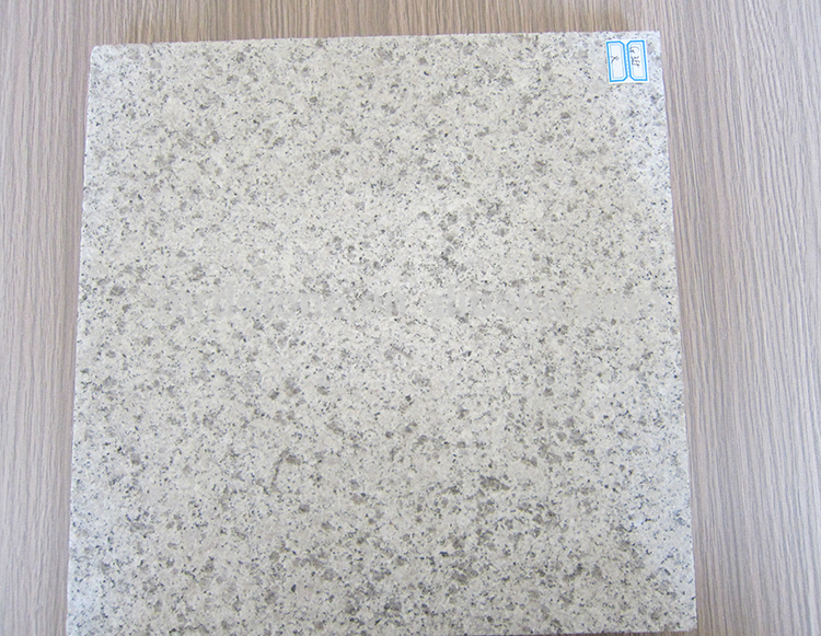 Chinese Natural Flamed G355 White Cheap Granite Tile
