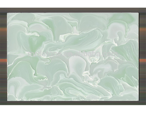 China Manufacturer Decorative Wall Green Faux Onyx Stone