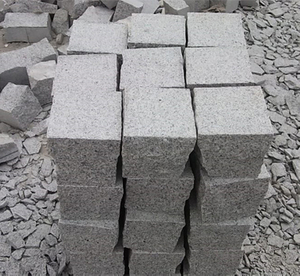 Cheap grey granite bricks paving stone for garden