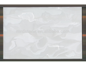 Hight Quality Polished Stone Panels Artificial White Onyx Price