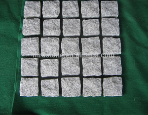 Granite cobblestone paver mats /mesh cobblestone pavers for sale
