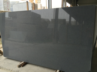G654 Impala Black Granite Polished Slab