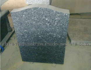 Polished Blue Pearl Granite Head Stone / Memorial Stone
