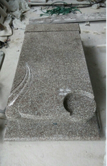 G664 Bainbrook Brown Granite Polish Style Granite Monument