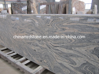 China Juparana / Wave Sand Granite Slab for Paving or Countertop