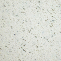 Popular Super White Crystallized Glass Artificial Marble
