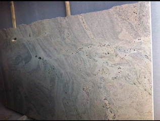 Polished Chinese Kashmir White Granite Slabs