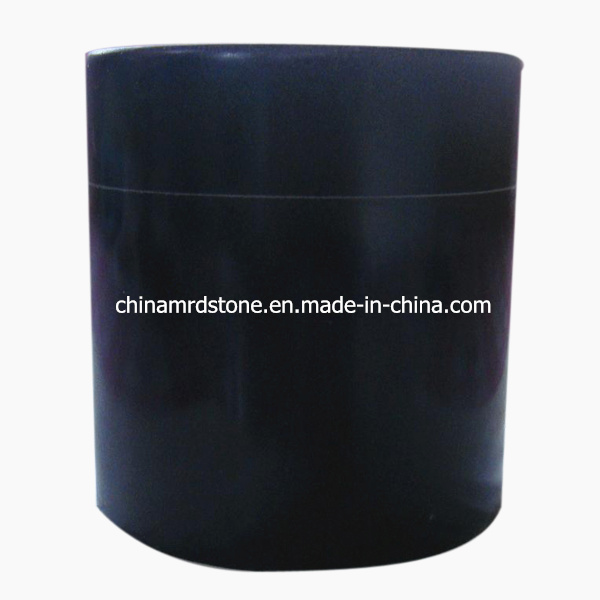 Customize Shanxi Black Granite Stone Cremation Urn