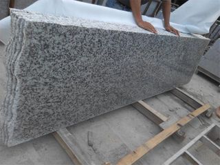 Polished G439 White Flower Granite Step with Competitive Price