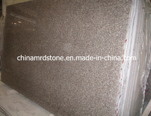 Promotional Polished G664 Misty Brown / Bainbrook Brown Granite Panel