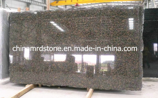 Baltic Brown Granite Slab for Countertop or Backsplash