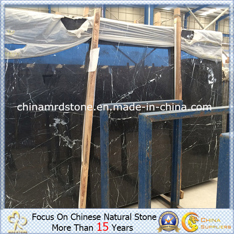 Nero Marquina Marble for Floor Tile or Bathroom Tile