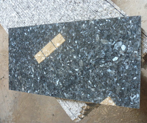 Polished Norway Blue Pearl Granite Floor Thin Tile