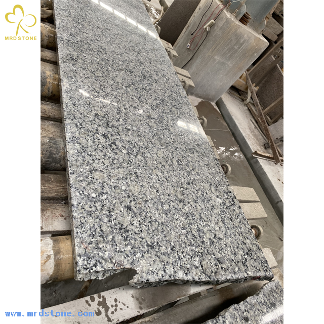 Cheap Natural Pearl blue Granite Slab