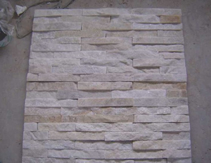 White Artificial Wall Stone Cladding