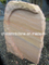 Wave Wood Sandstone Headstone