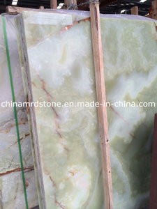 Natural Green Onyx for Floor Tile or Background Wall