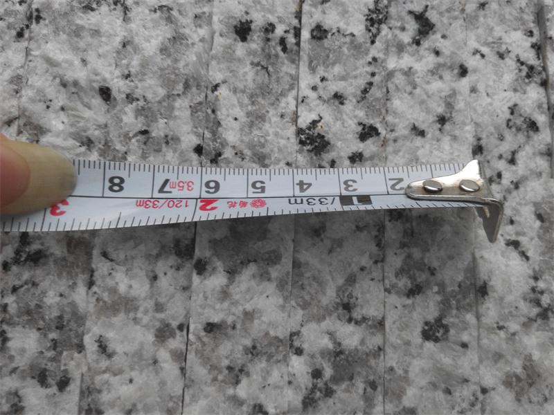 Polished G439 White Slabs Granite with 2cm