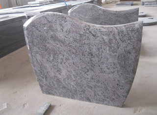 Vizag Blue / Bahama Blue Granite Head Stone for Cemetery